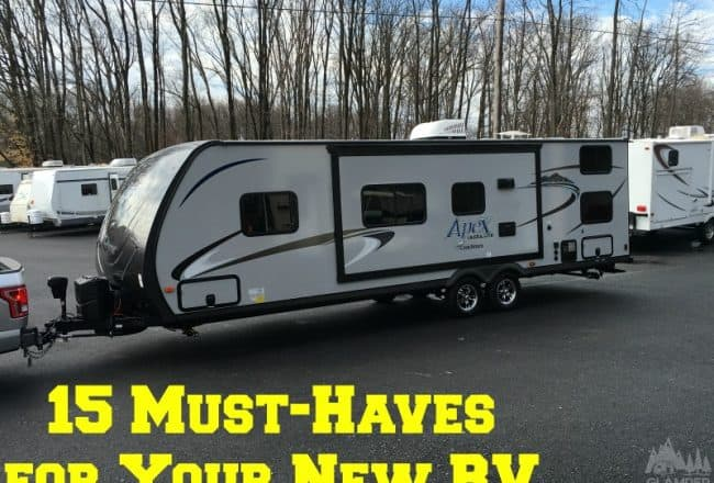 15 Must-Haves for Your New RV