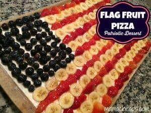 flag fruit pizza red white blue dessert title