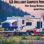 12 Brilliant Campsite Products for Easy Relaxation and Comfort