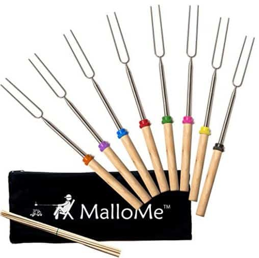 Telescoping Marshmallow Roasting Sticks