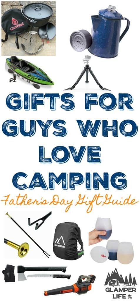 Gift Guide for Guys Who Love Camping