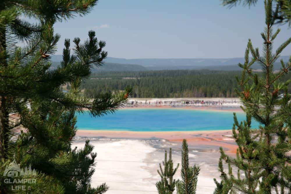View of Grand Prismatic
