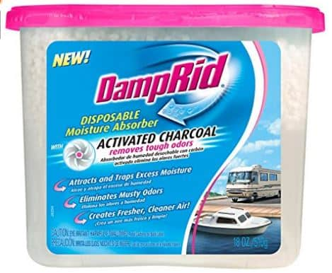 DampRid FG118RV Moisture Absorber, Charcoal RV, 18-Ounce