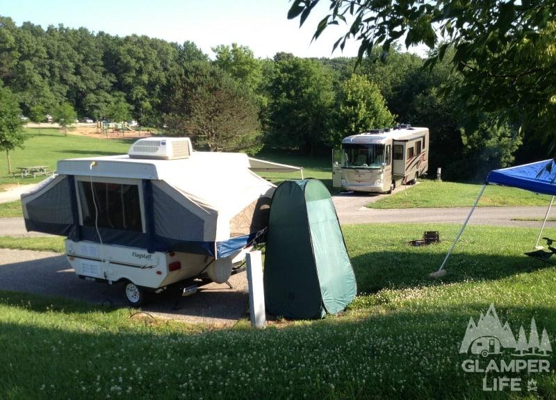 Flagstaff Pop Up Camper