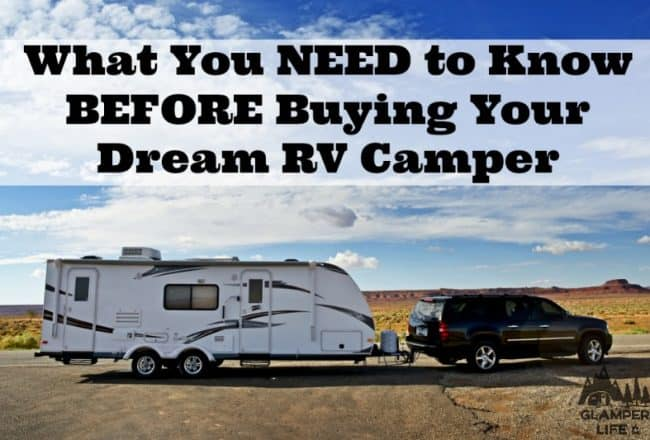 What You NEED to Know BEFORE Buying Your Dream RV Camper