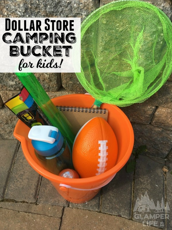 Camping Bucket for Kids