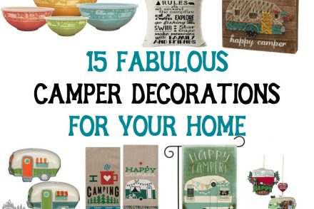 Camper Decorations for Your Home