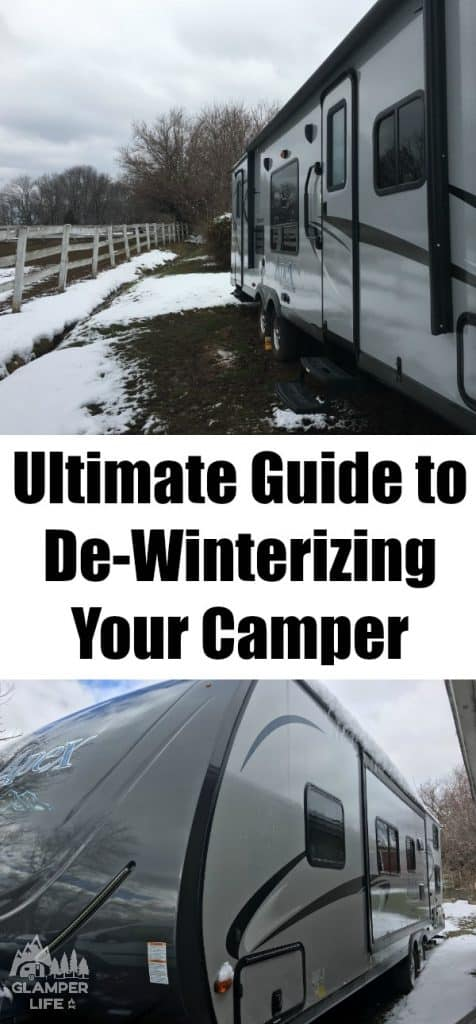 The Ultimate Guide to De-Winterizing Your Camper