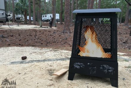 Campfire Fire Pit Disney Fort Wilderness