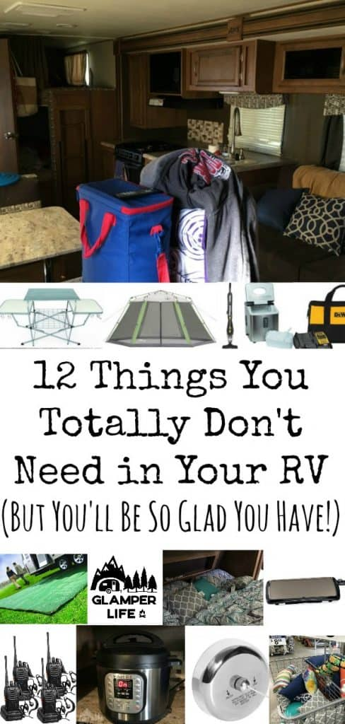 12 Things You Totally Don't Need in Your RV
