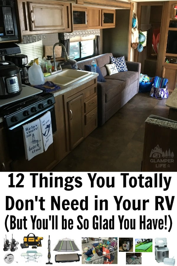 12 Things You Totally Don't Need in Your RV (But You'll be So Glad You Have!) PIN 2