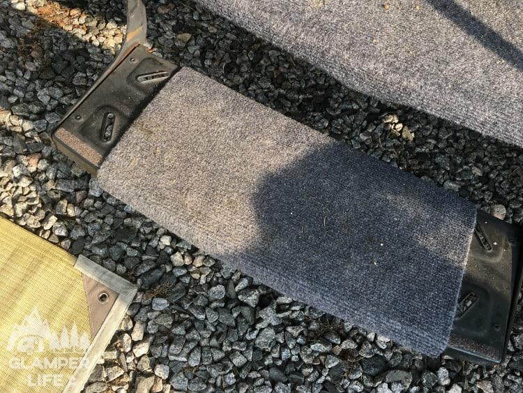 Camper Rug Steps