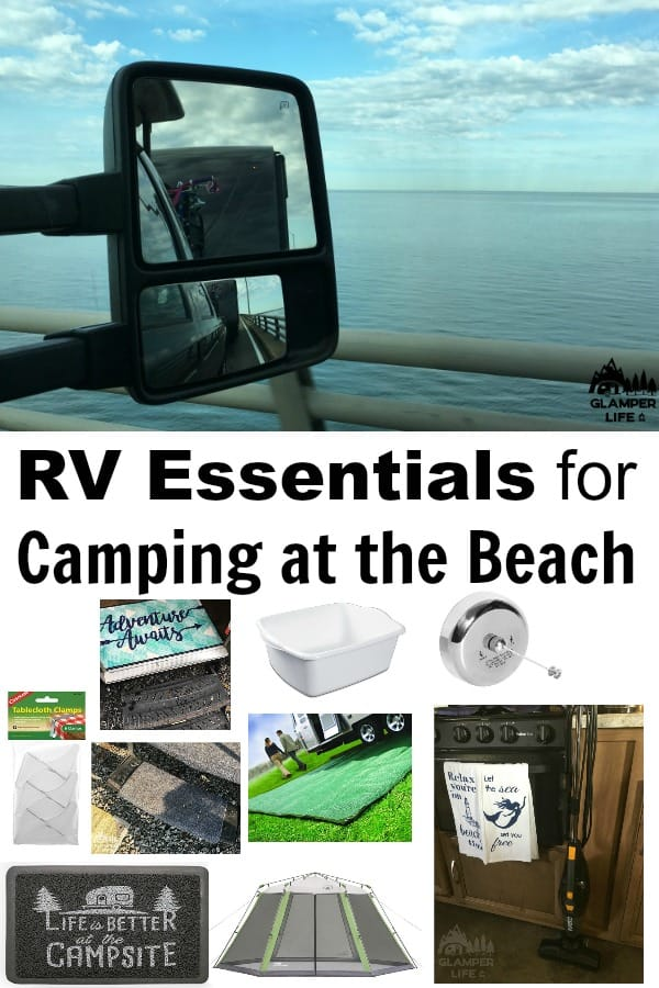 RV Essentials for Camping at the Beach
