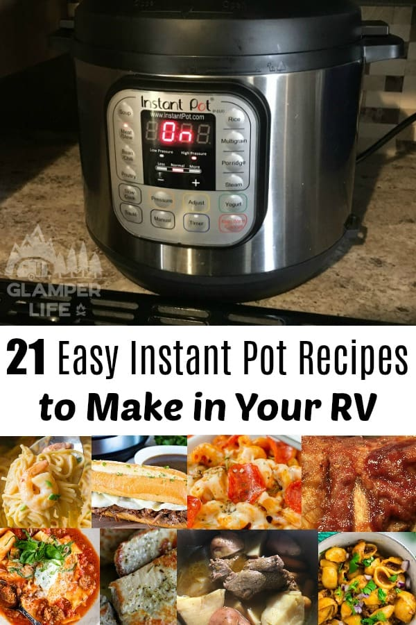 Easy Instant Pot Recipes to Make in Your RV