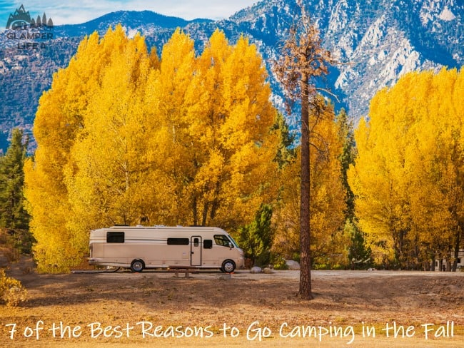 7 of the Best Reasons to Go Camping in the Fall