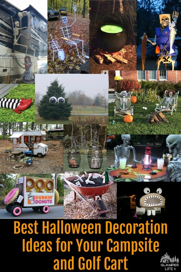 Fun Halloween Decoration Ideas for Your Campsite and Golf Cart