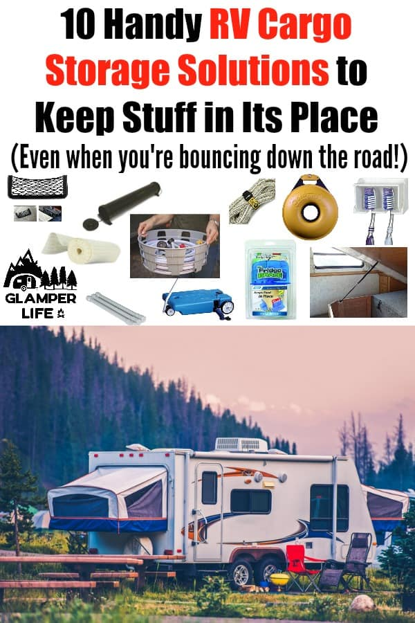 Handy RV Cargo Storage Solutions to Keep Stuff in Its Place