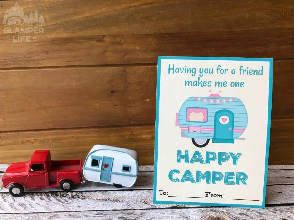 RV Themed Printable Valentines