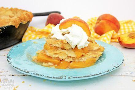 Classic Peach Cobbler Skillet Recipe