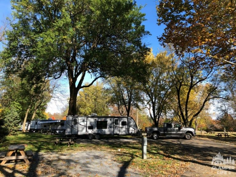 Questions to Ask a Campground fall foliage