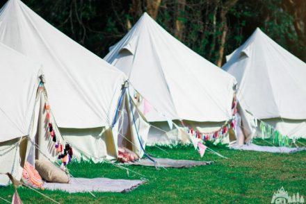 glampsite tents
