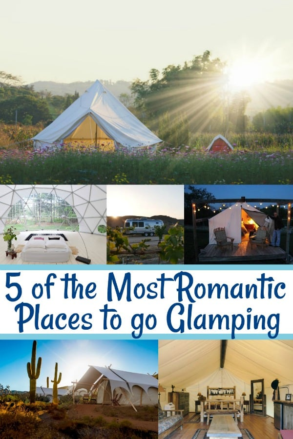 best glamping locations in united states