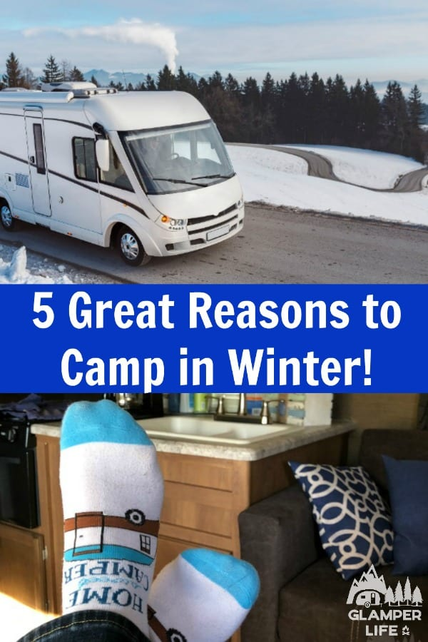 Camping in the Winter PIN