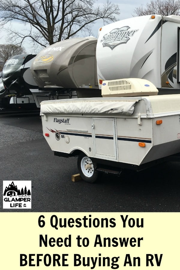 6 Questions You Need to Answer BEFORE Buying An RV