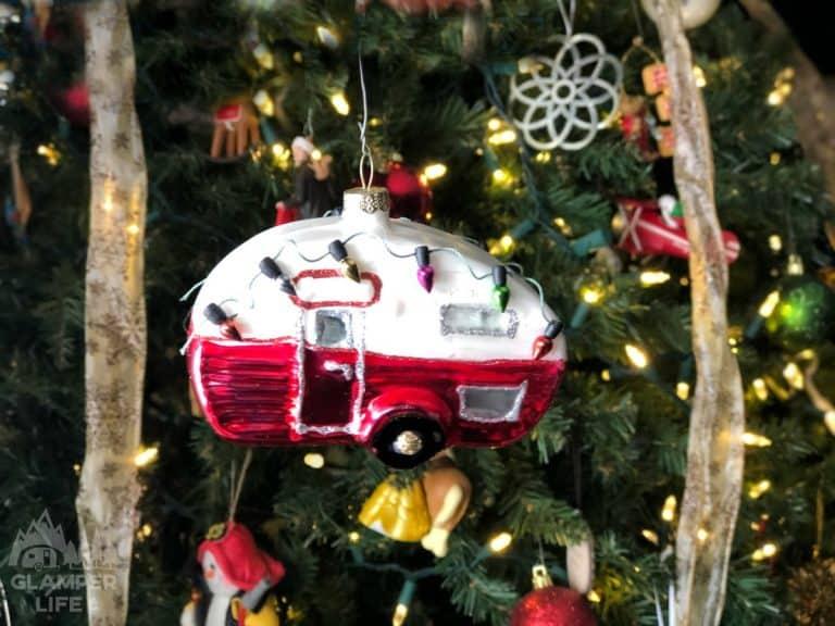 Camper RV Holiday Christmas Ornament