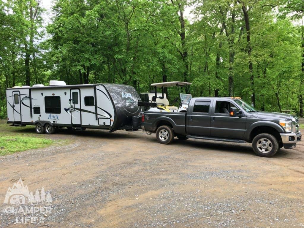 coachman apex ford f250 truck