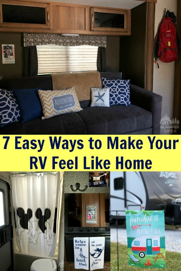 7 Easy Ways to Make Your RV Feel Like Home PIN