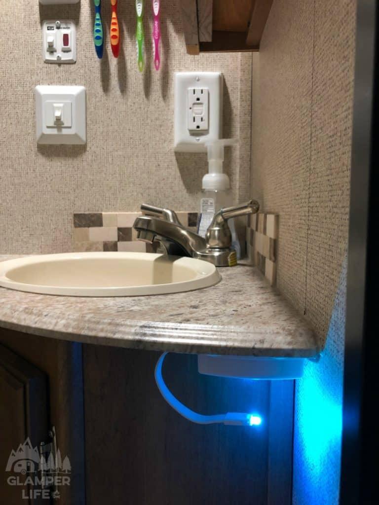 Camper Bathroom Nightlight