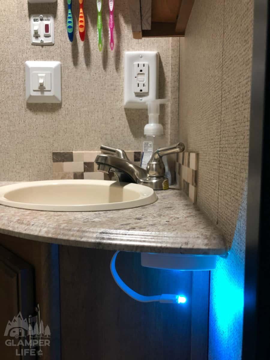 Camper Bathroom sink