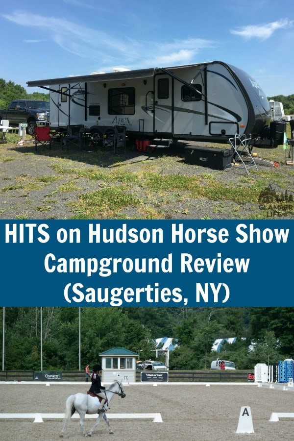 HITS on Hudson Horse Show Campground Review PIN