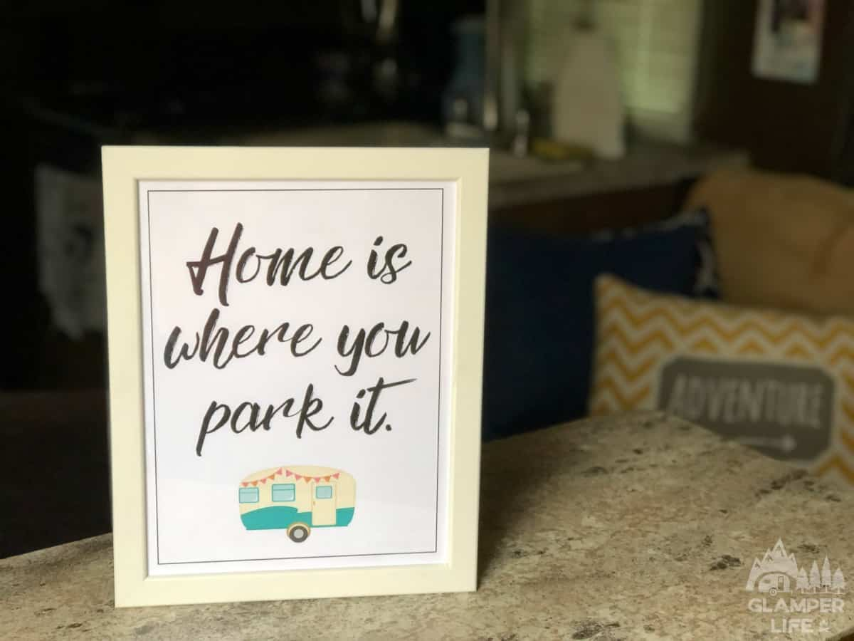 printable camper decor