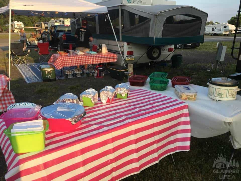 Horse Show Campground Tailgate