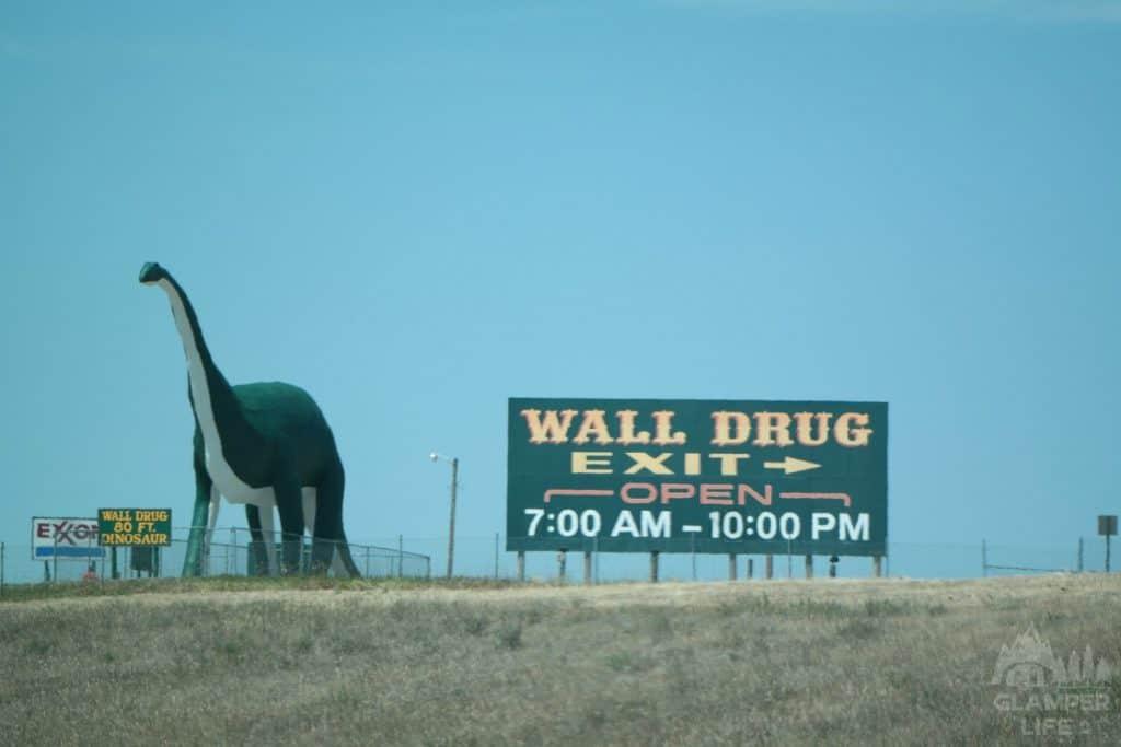 Wall Drug 80 Foot Dinosaur