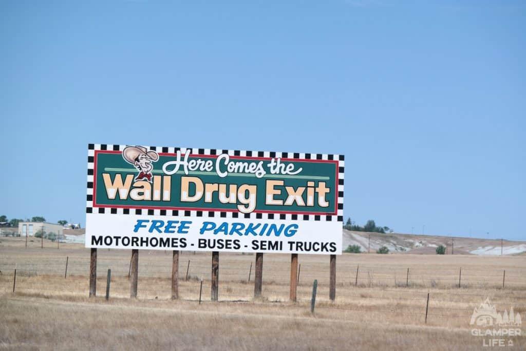 Wall Drug Highway Billboard