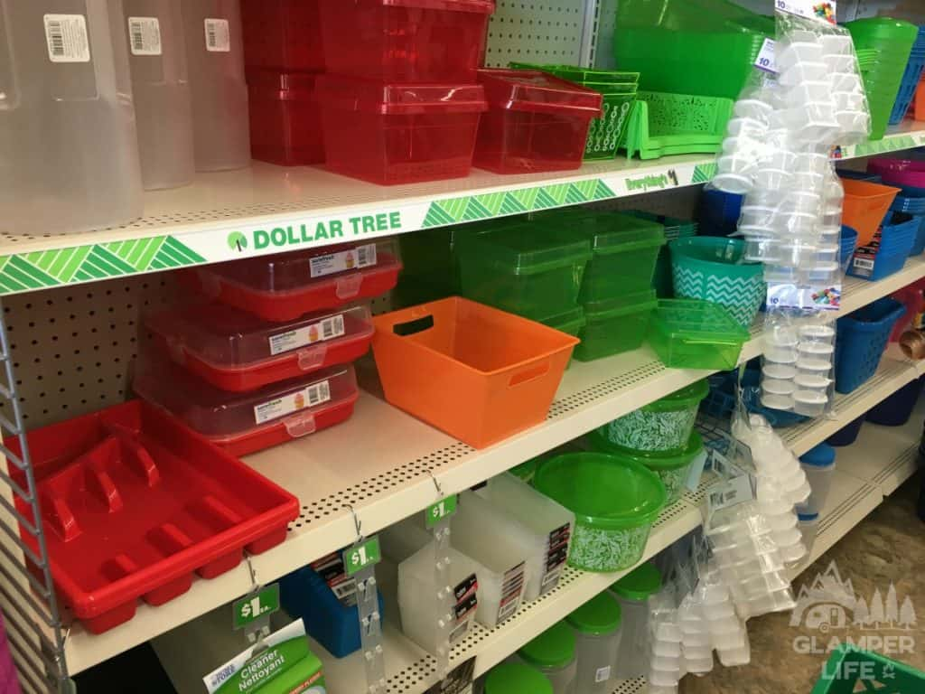 dollar store plastic containers