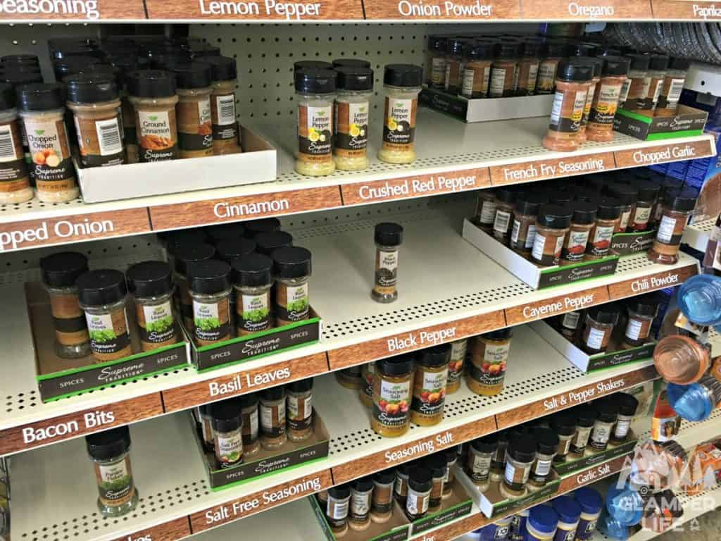 dollar store spices