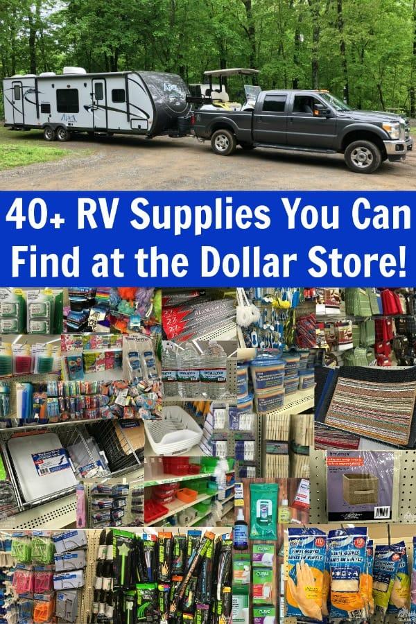 rv dollar store supplies