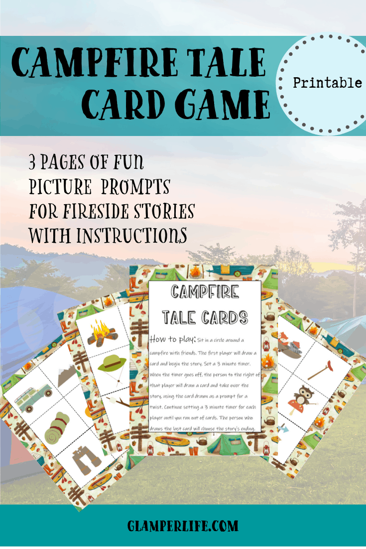 Campfire Tale Card Game 5 Pin