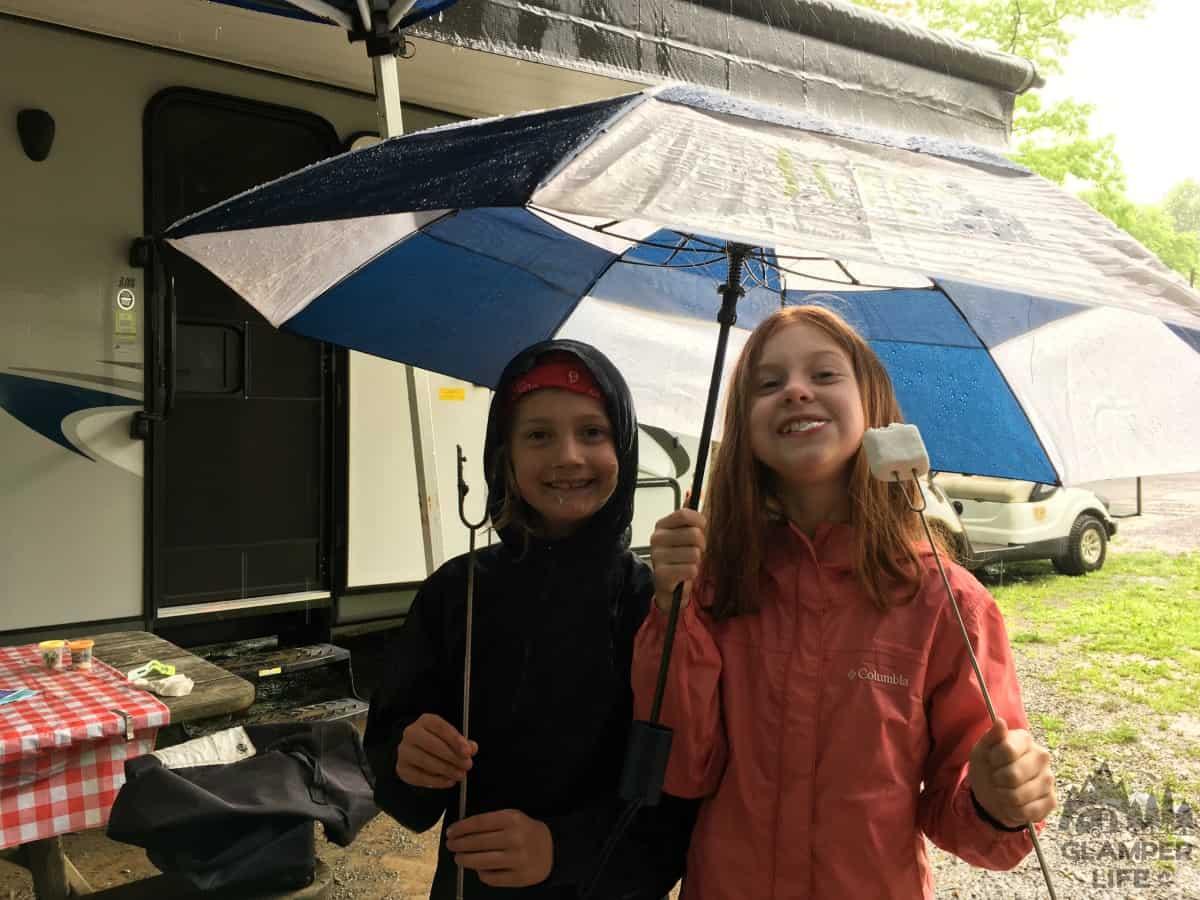 Rainy Smores