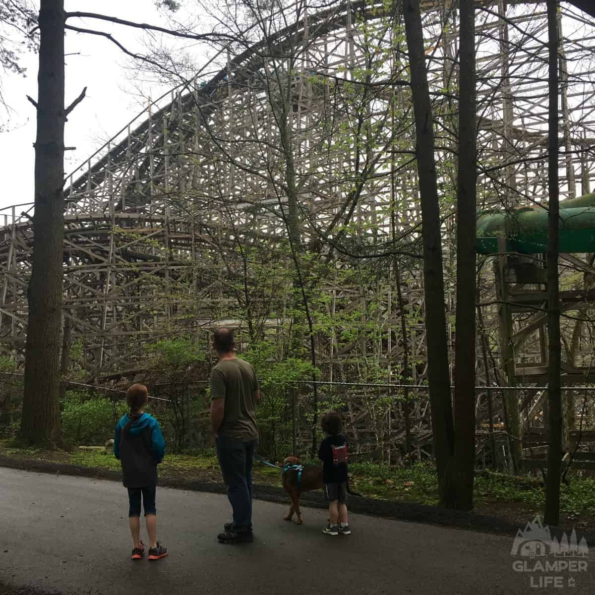 Roller Coaster Knoebels Campground