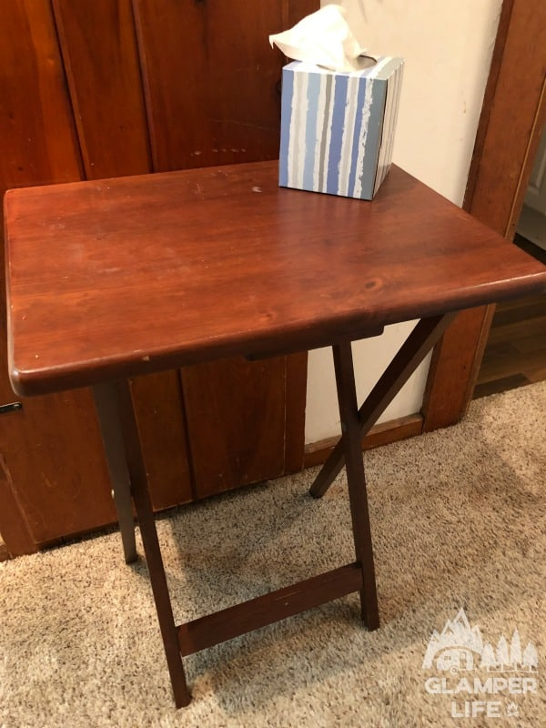 tv tray table