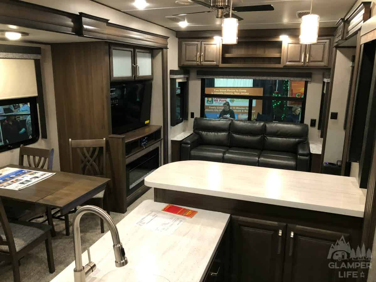 Rear Living Space RV