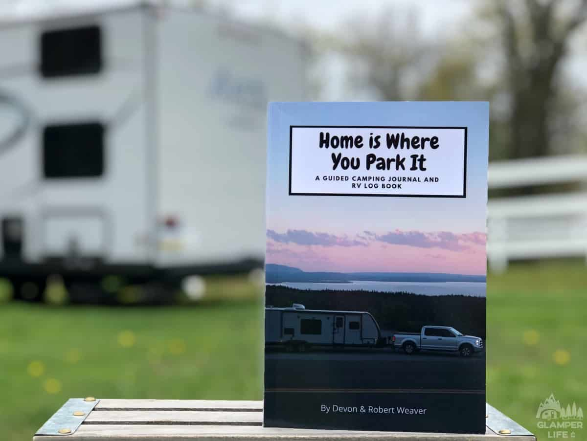 Camping Journal and RV Log Book HERO