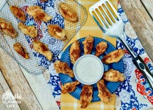 Easy Cajun Air Fryer Wings Recipe