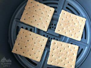 Graham Crackers in air fryer