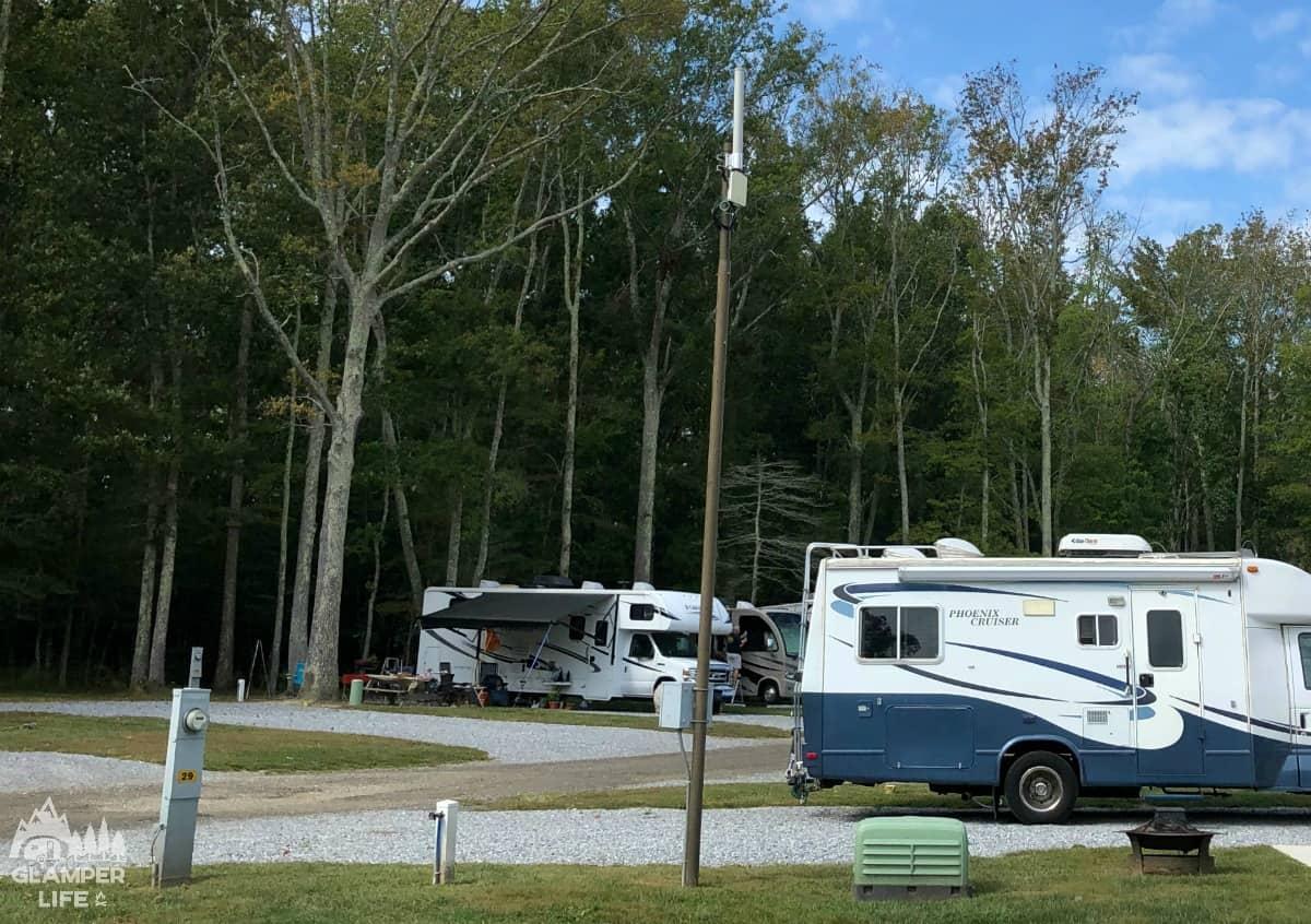 Phoenix Cruiser RV at Campsite WM